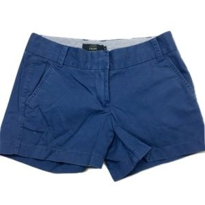 J.Crew Blue-Grey Chino Shorts